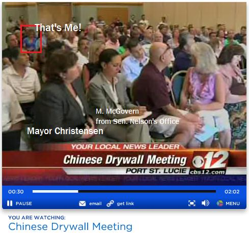 Chinese Drywall from News Channel 12