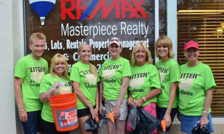 RE/MAX Masterpiece Adopt-A-Street